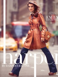 Emily Ratajkowski Is Gorgeous For Harper By Harper�s Bazaar Cover Story