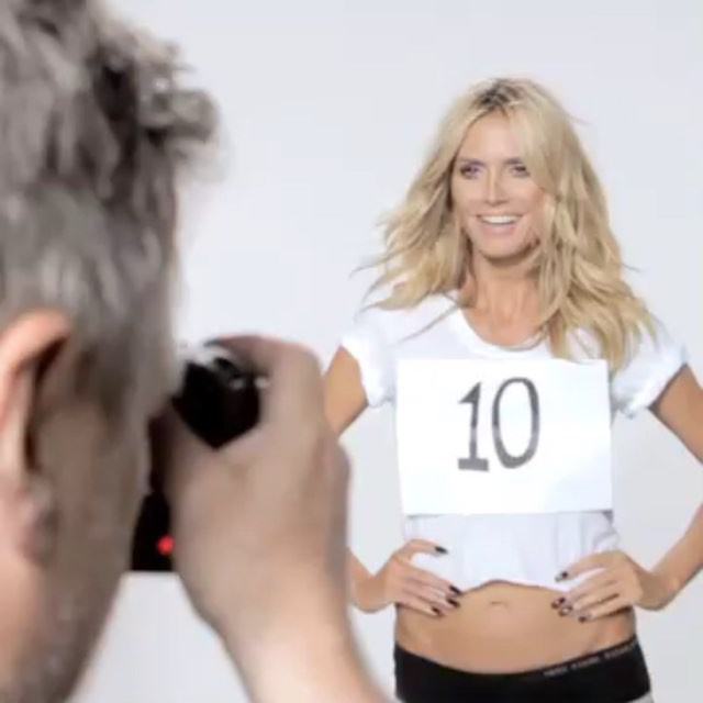 Heidi Klum shares funny video in response to Donald Trump