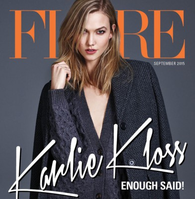Karlie Kloss Fronts Glamour & Flare\'s September Issues