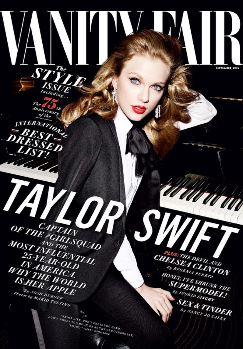 Taylor Swift Sizzles On the Cover of Vanity Fair