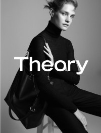 Natalia Vodianova Goes Natural For Theory\'s Fall/Winter 2015 Ad Campaign