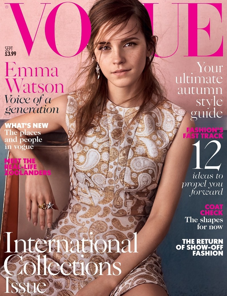 Emma Watson Covers September Vogue