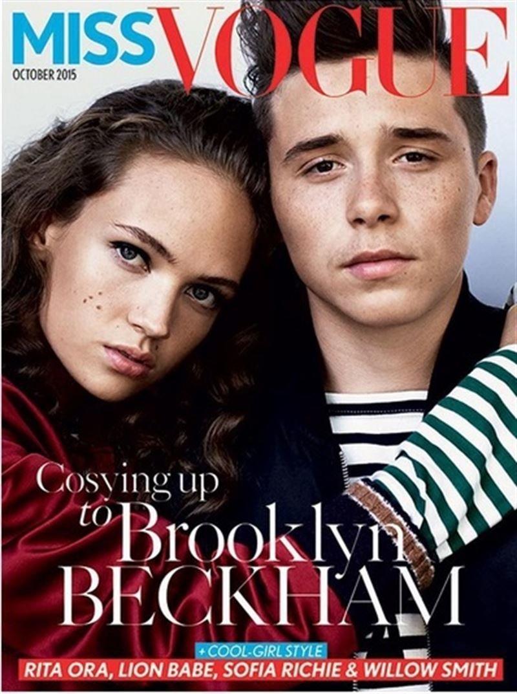 Brooklyn Beckham Covers Miss Vogue