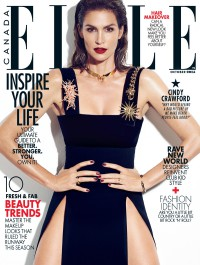 Cindy Crawford Stuns In Elle Canada Cover Story