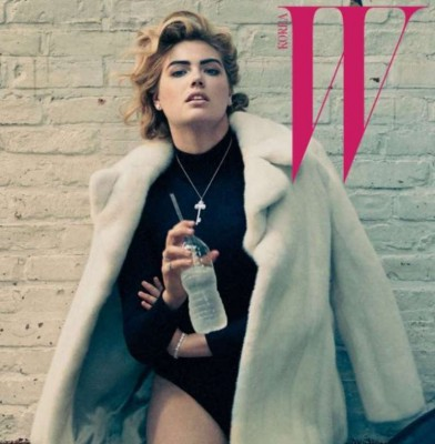 Kate Upton Flaunts Her Long Legs On The Cover Of W Korea