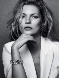 Kate Moss Is Gorgeous in Black & White For New David Yurman Ads