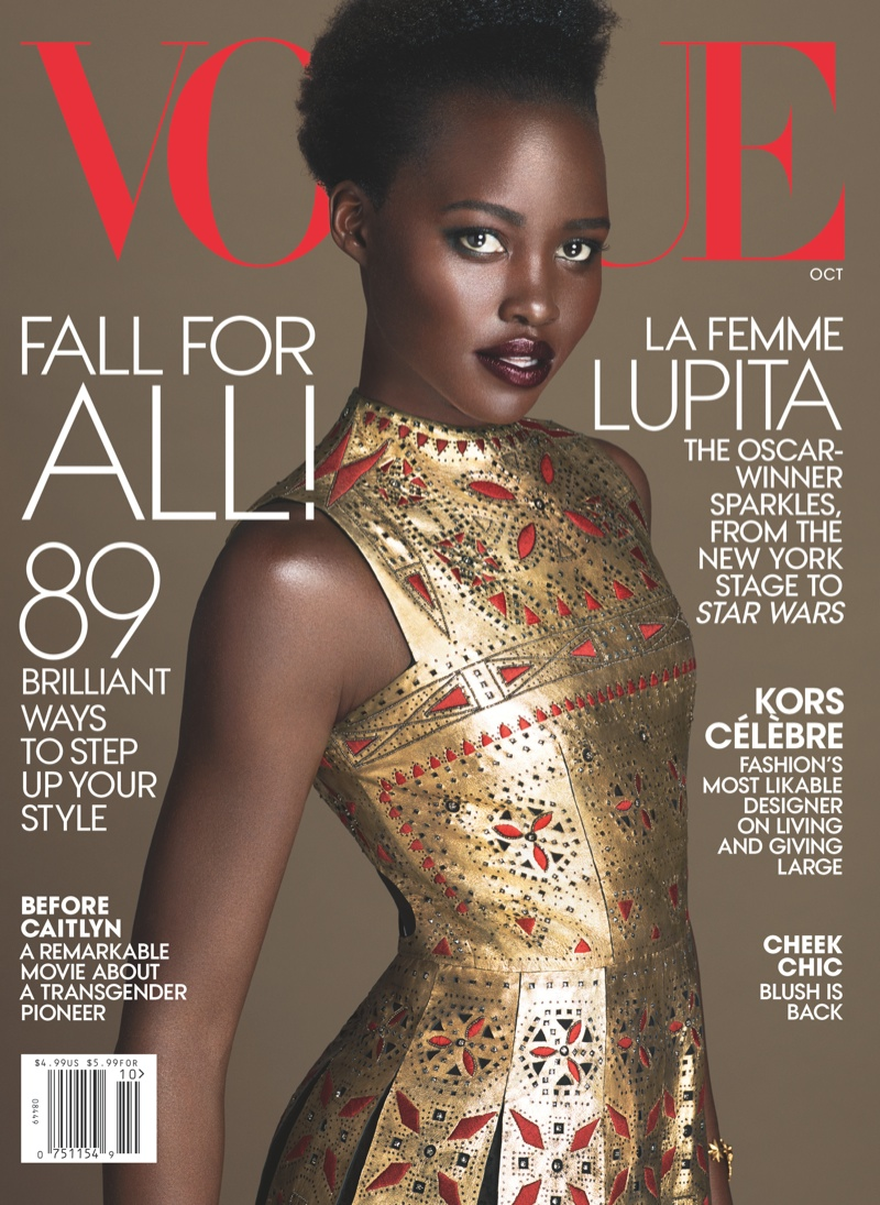 Lupita Nyong\'o stuns in second Vogue cover