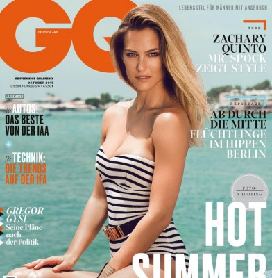 Bar Refaeli Sizzles On GQ Germany October 2015 Cover