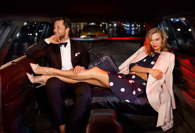 Karlie Kloss and Derek Blasberg Star In Kate Spade Holiday Campaign