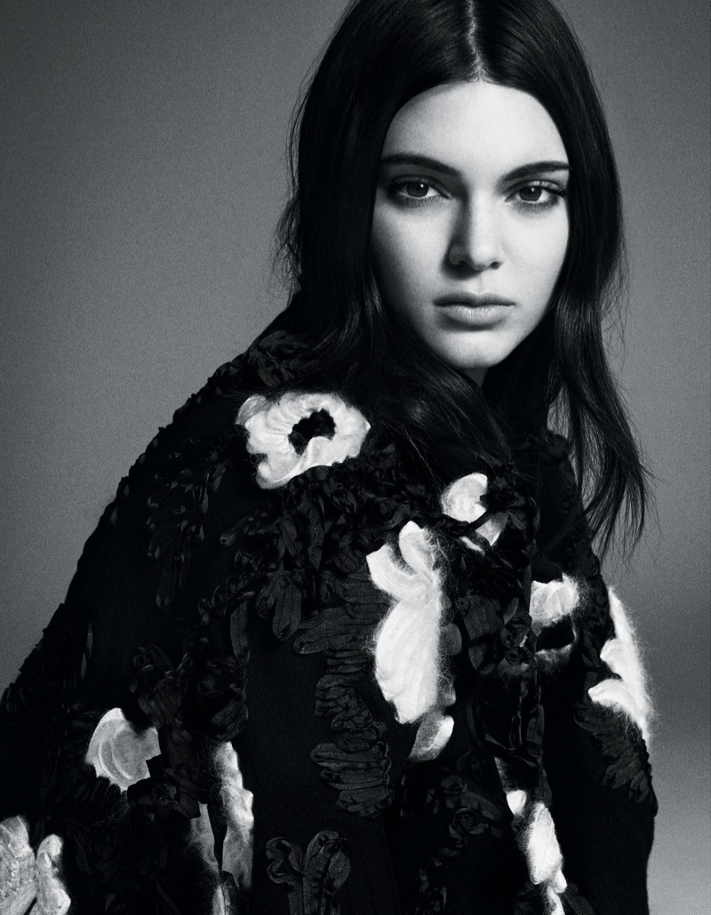 Kendall Jenner sports fall fashions for Vogue Japan