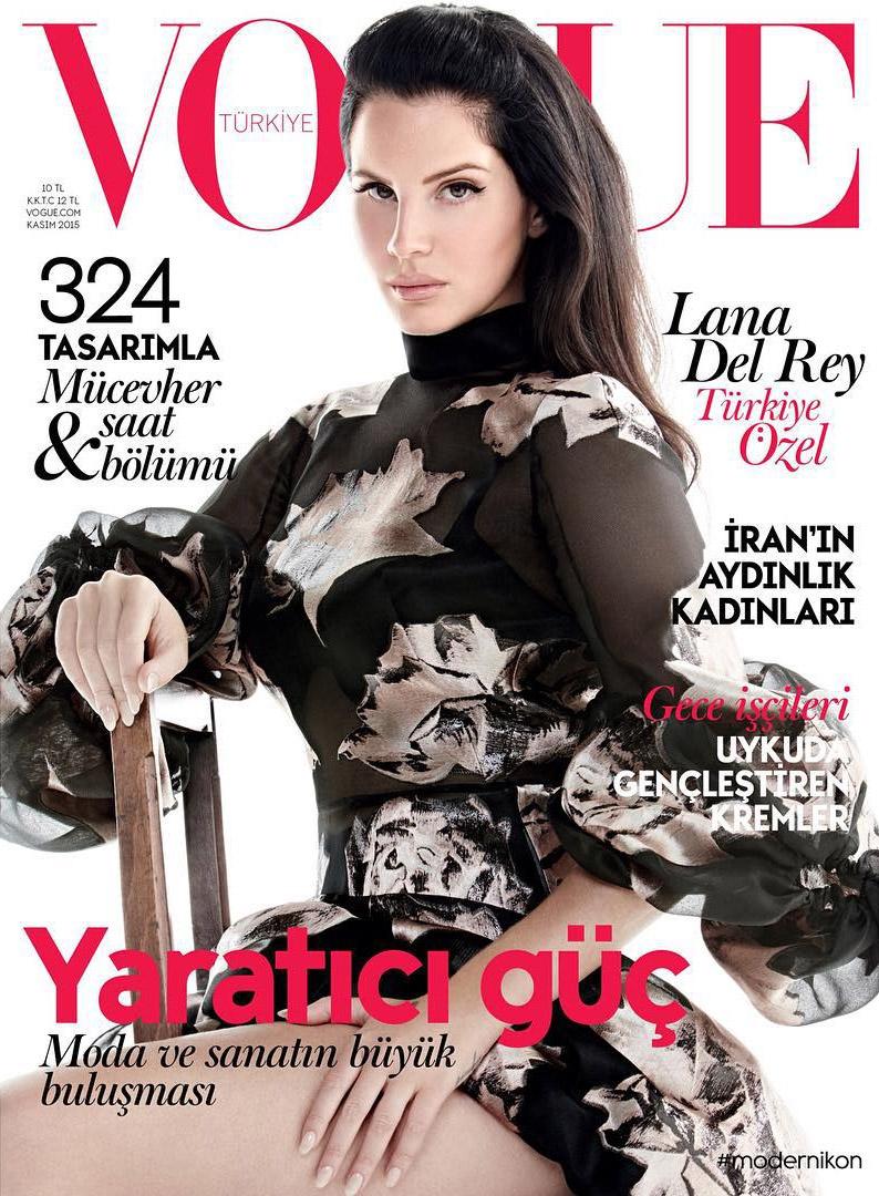 Lana Del Rey Is Vogue Turkey\'s Cover Star