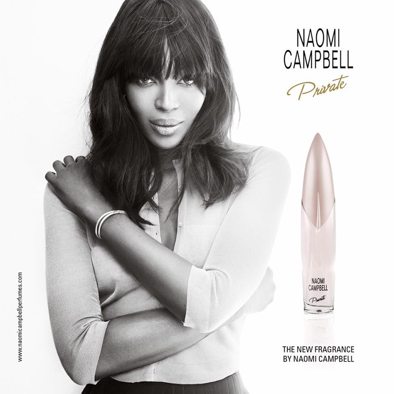 Naomi Campbell Stuns in Her New Fragrance Campaign
