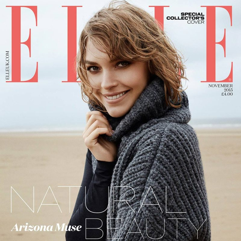 Arizona Muse Covers Special ELLE UK Collector\'s Issue