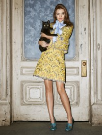 Miranda Kerr is Halloween ready in spooky Harper\'s Bazaar Photo Shoot