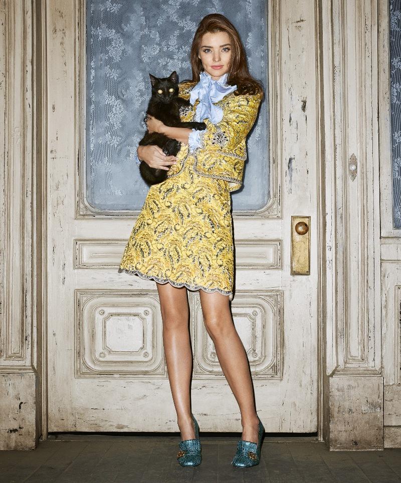 Miranda Kerr is Halloween ready in spooky Harper\'s Bazaar Photo Shoot