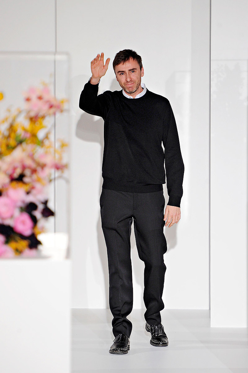 Raf Simons Is Leaving Christian Dior