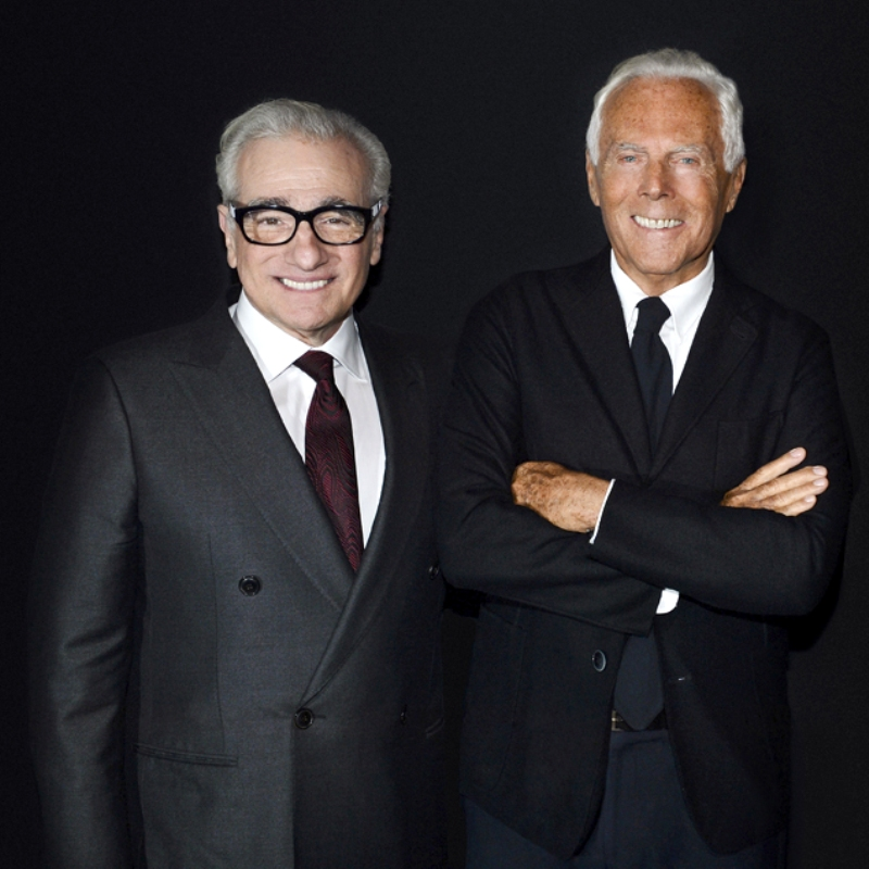 Giorgio Armani Collaborates On New Martin Scorsese Exhibition