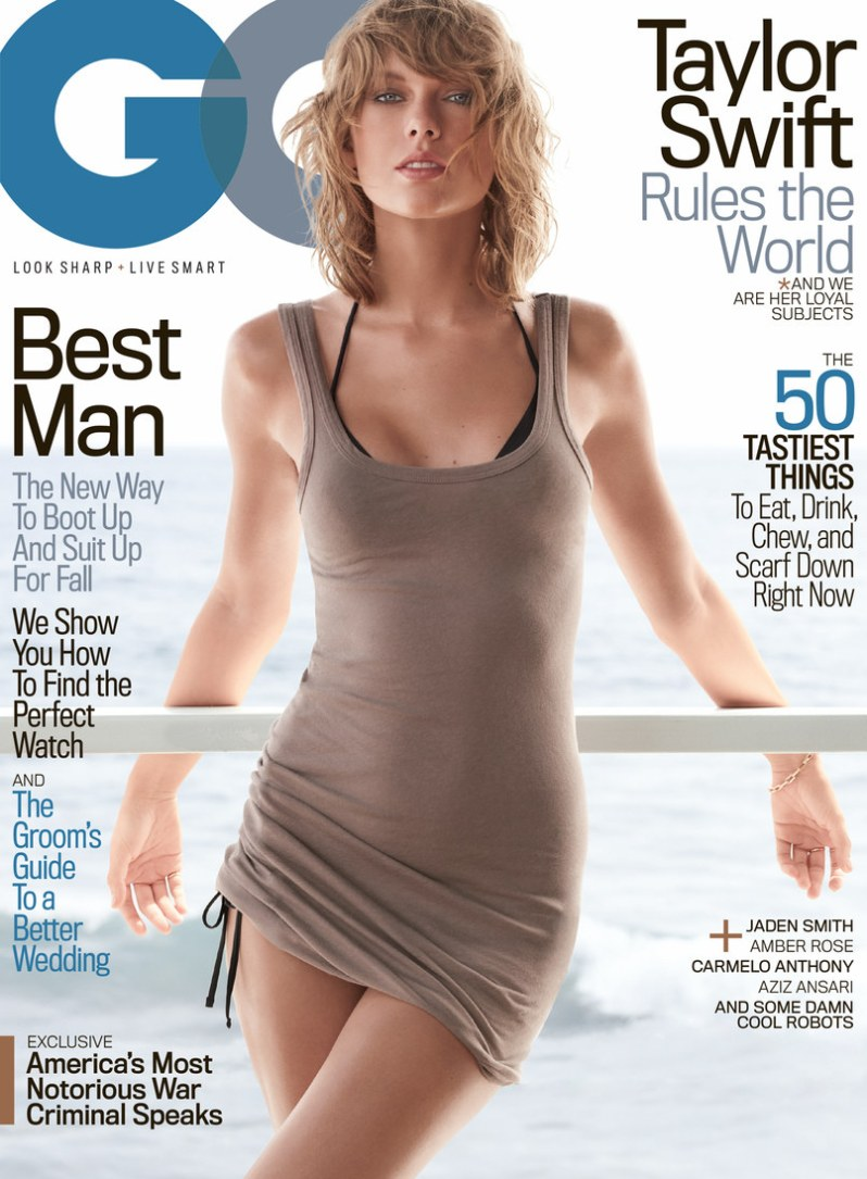 Taylor Swift Scores first ever GQ Cover