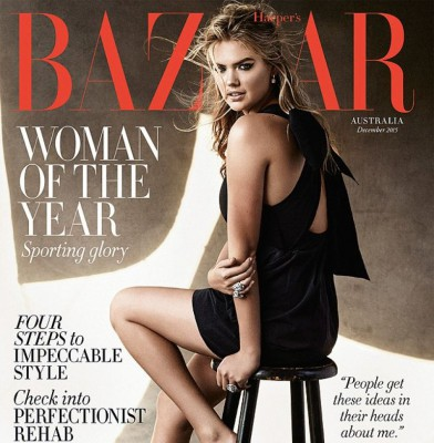 Kate Upton Is Bazaar Australia\'s December Cover Star