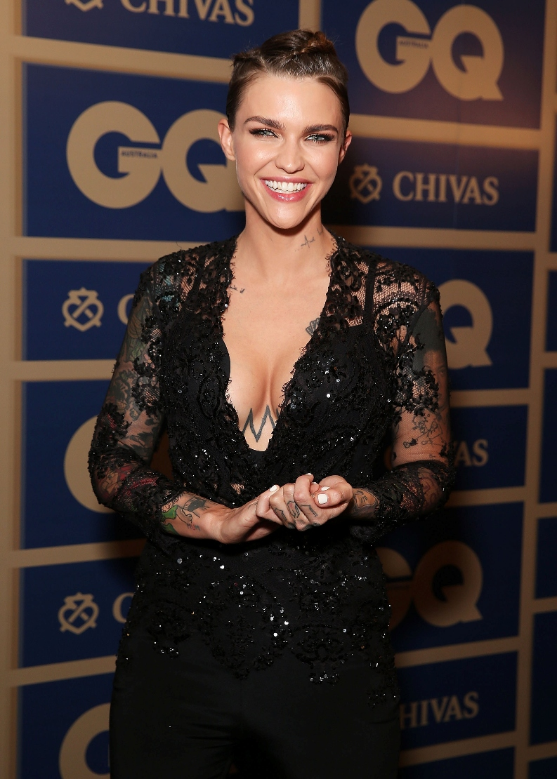 Ruby Rose Is GQ Australia\'s Woman Of The Year