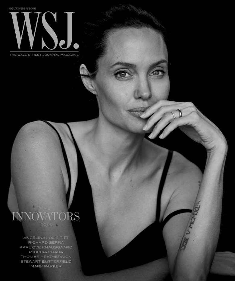 Angelina Jolie is cover star of WSJ Mag November 2015 Issue