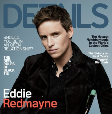 Eddie Redmayne Covers the Final Issue of \'Details\' Magazine
