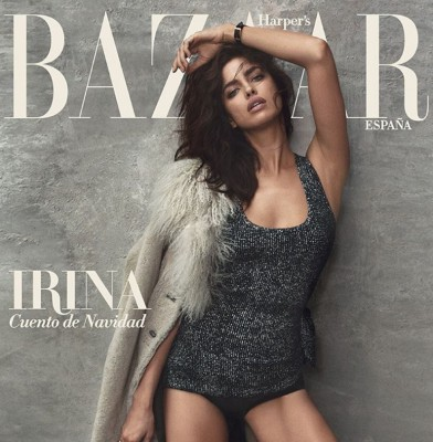 Irina Shayk Sizzles on Harper\'s Bazaar Spain Covers