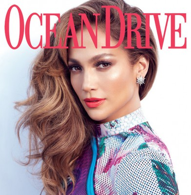 Jennifer Lopez Sizzles On \'Ocean Drive\' Cover