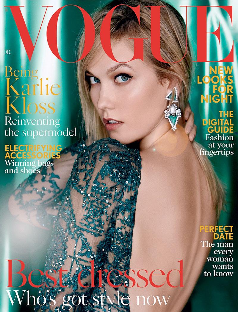 Karlie Kloss Covers December Vogue