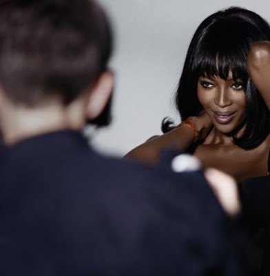 Naomi Campbell Designs And Models Yamamay Lingerie Line