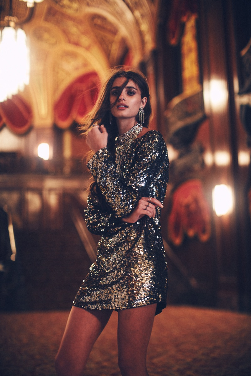 Taylor Hill Is A Dream In Free People\'s November Catalog