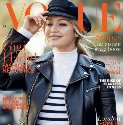 Gigi Hadid Scores First British Vogue Cover
