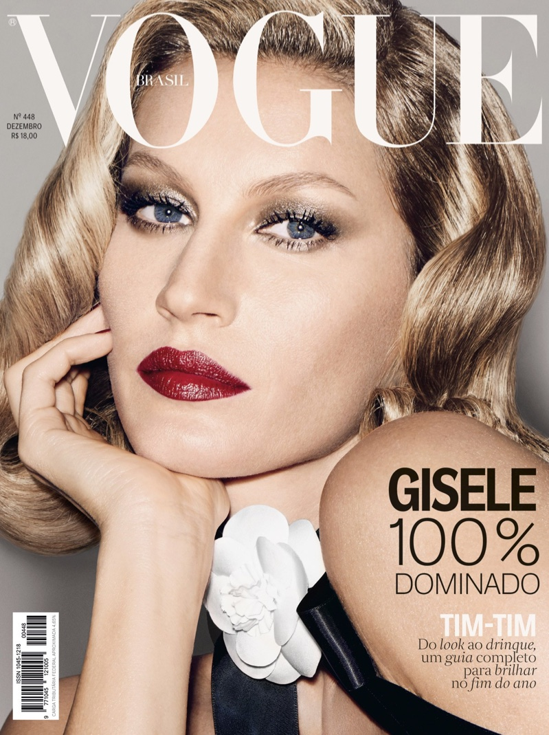 Gisele Bundchen Closes Out 2015 With 2 Vogue Brazil Covers