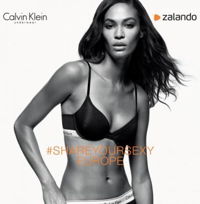 Joan Smalls Smoulders In Calvin Klein Zalando Lingerie Campaign