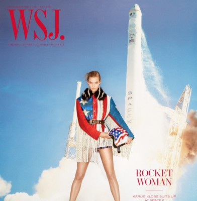 Karlie Kloss Stars in WSJ Magazine\'s Holiday 2015 Issue