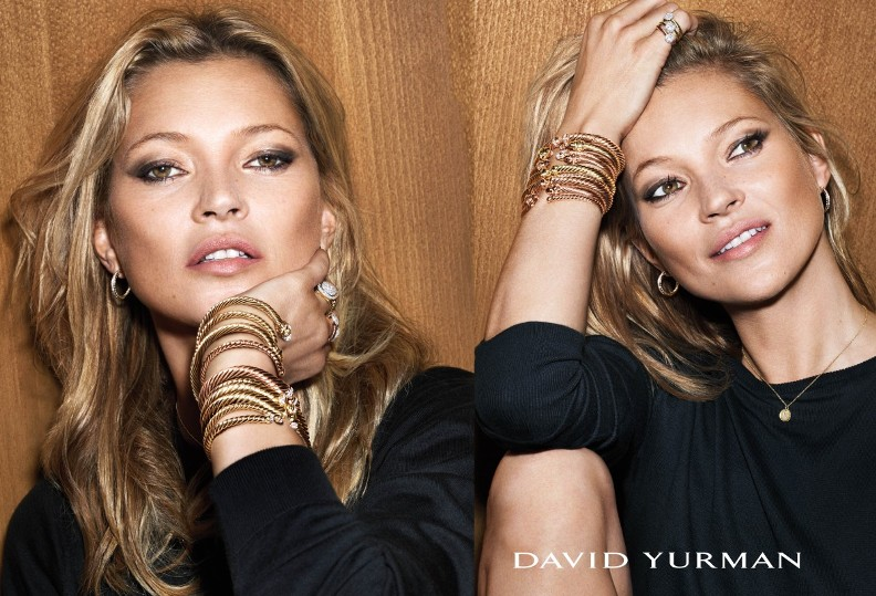 Kate Moss & Anna Ewers star in colorful David Yurman Holiday Campaign