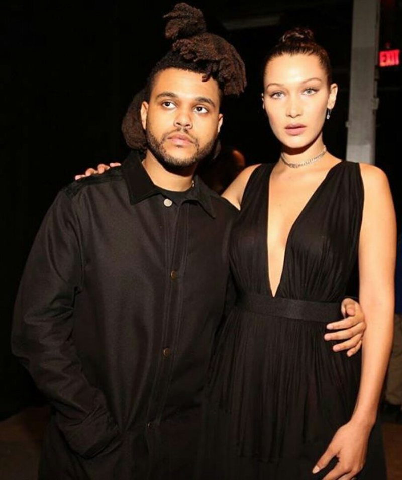 Bella Hadid & The Weeknd Take a Break