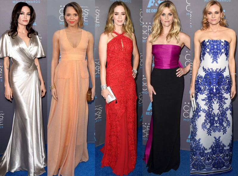 The Sexiest Looks & Trends from the 2016 Critics Choice Award
