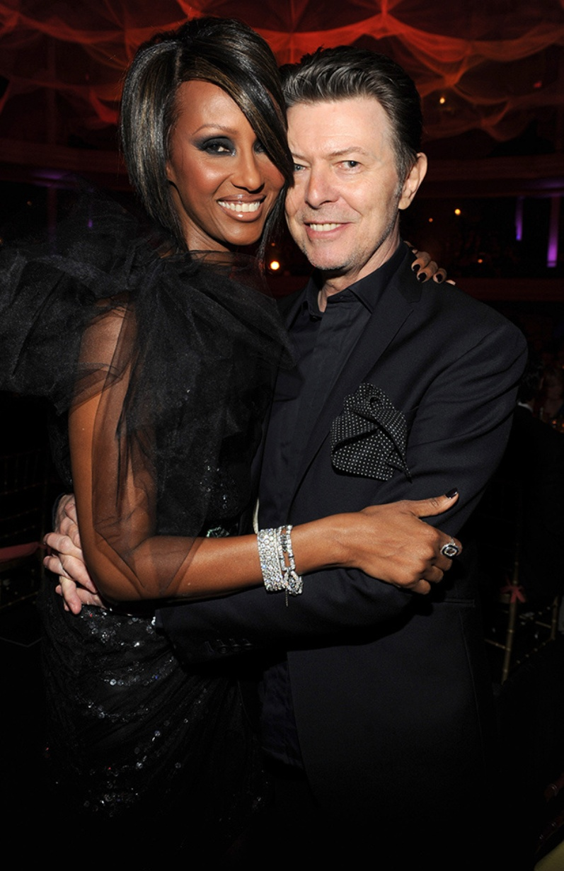 Iman Recalls David Bowie\'s Greatest Moments on Instagram
