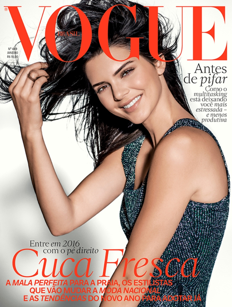 Kendall Jenner wows on her latest Vogue cover