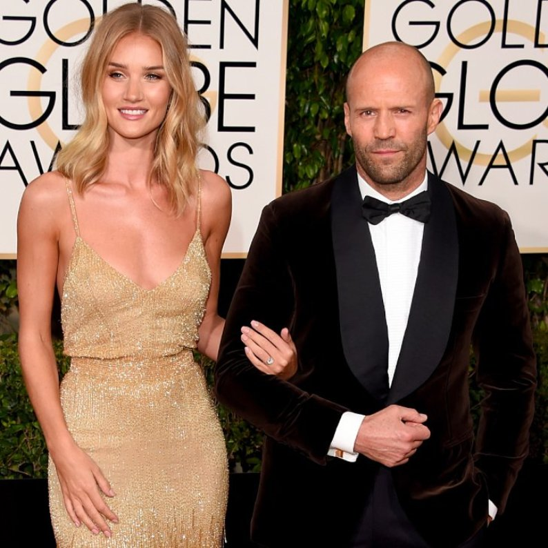 Rosie Huntington-Whiteley and Jason Statham Are Engaged
