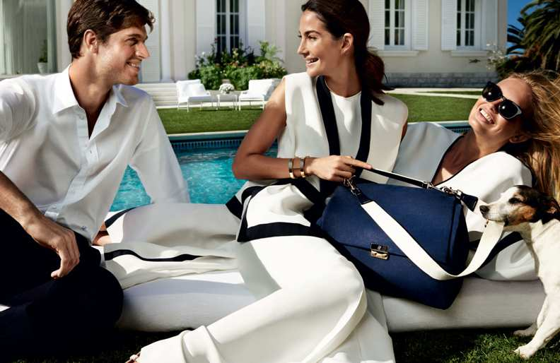 Lily Aldridge & Romee Strijd star in Carolina Herrera\'s Spring Ads