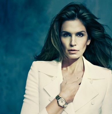 Cindy Crawford celebrates 20 years of fronting Omega Watches
