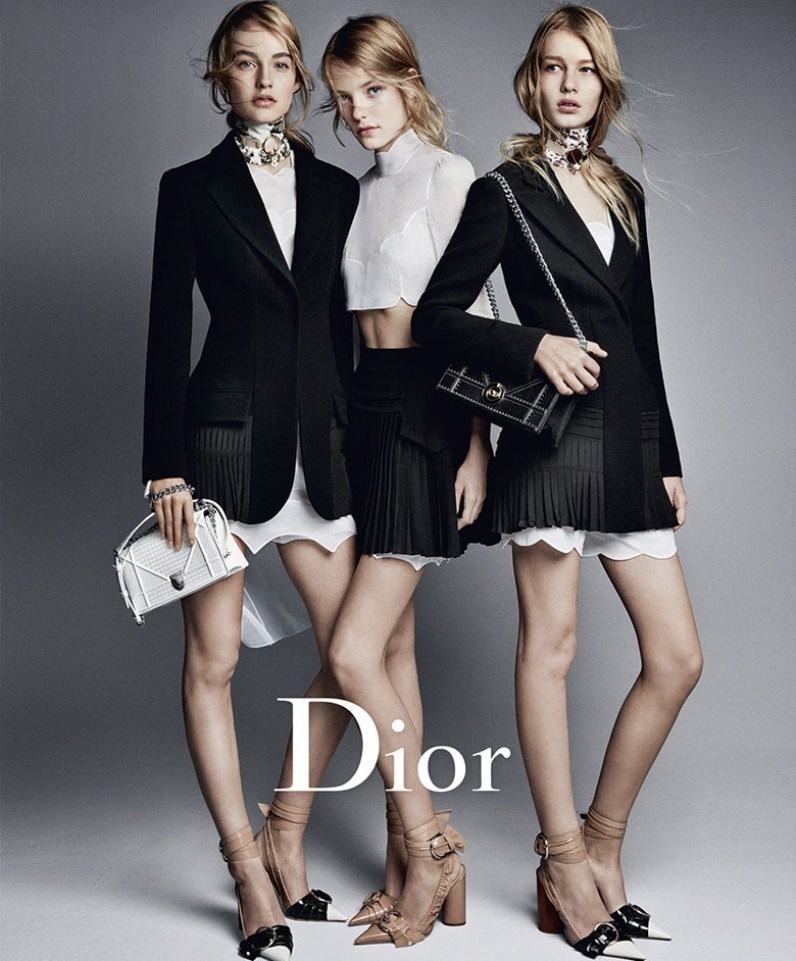 A Look At Raf Simon\'s Final Campaign For Dior