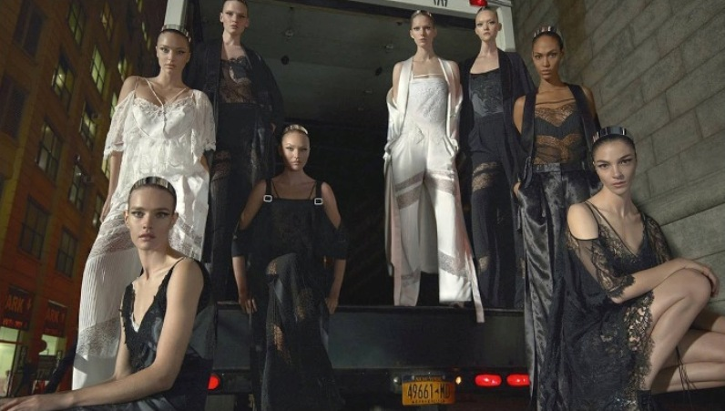 Givenchy features 27 models for Spring/Summer 2016 Campaign