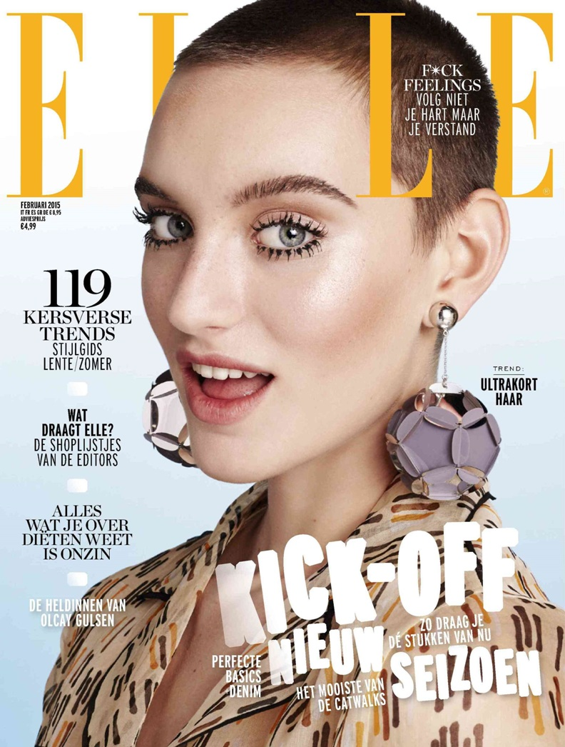 Soekie Gravenhorst Stuns On The Cover Of Elle Netherlands February Issue