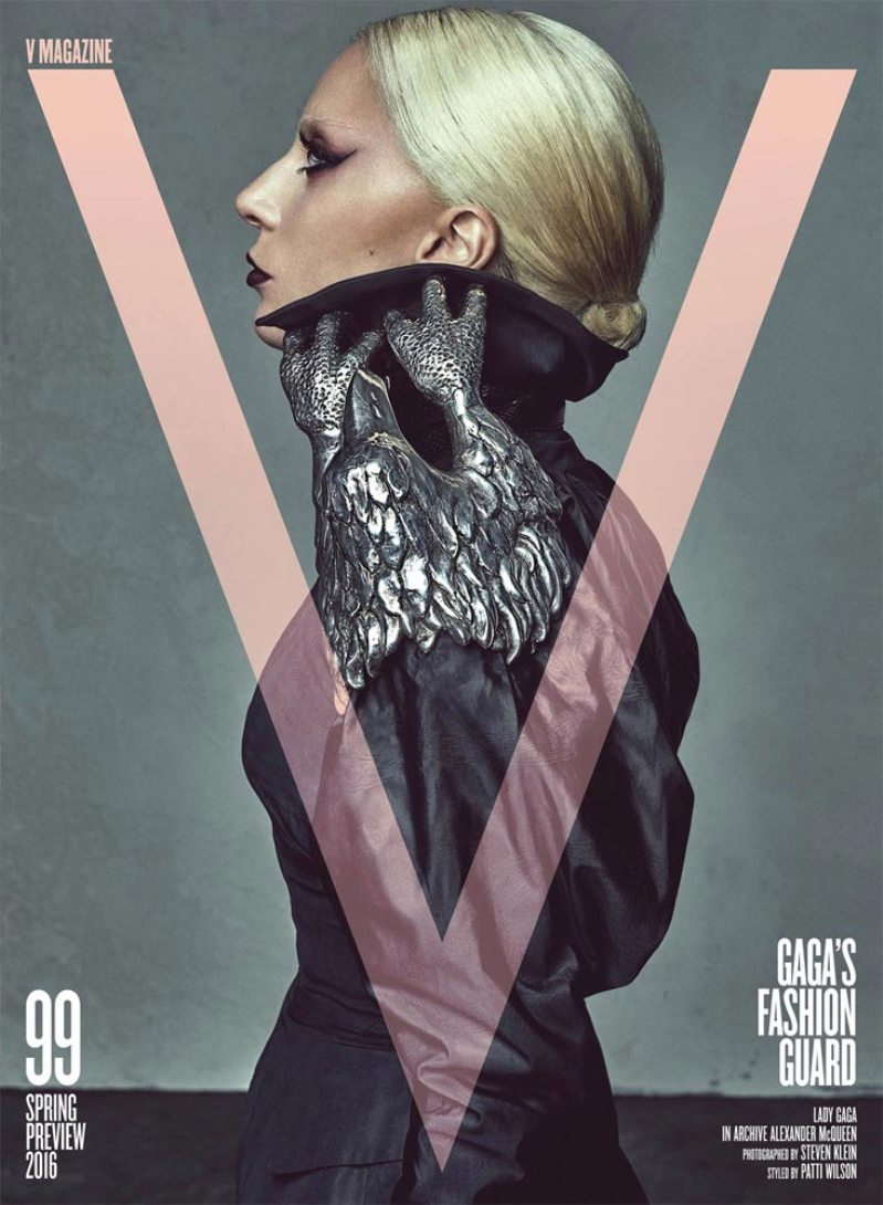 Lady Gaga turns Guest Editor for V Magazine\'s 99th Issue