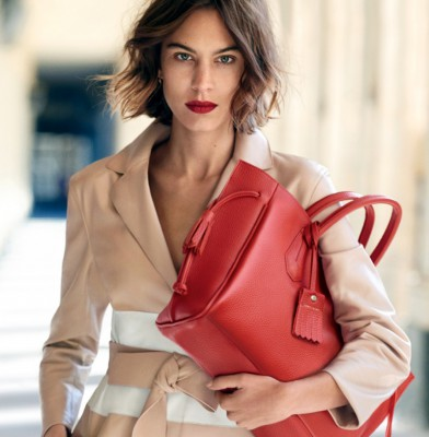 Alexa Chung Channels Her Inner Parisian In Longchamp\'s Spring 2016 Campaign