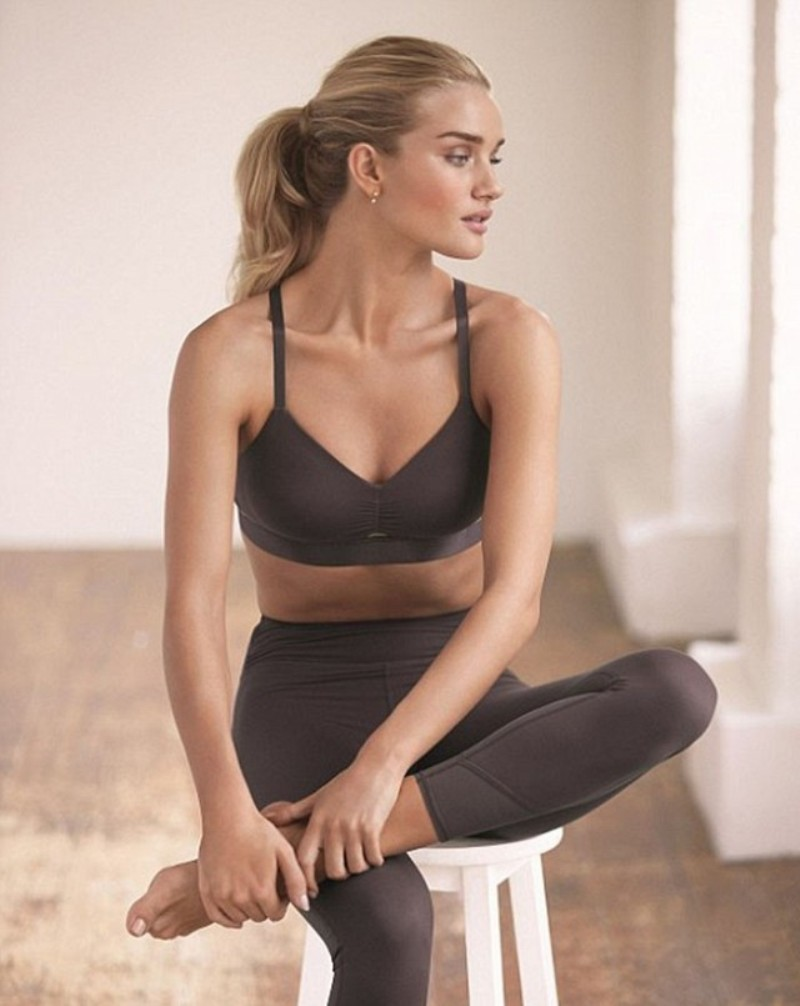 Rosie Huntington-Whiteley Launches Active Wear Collection