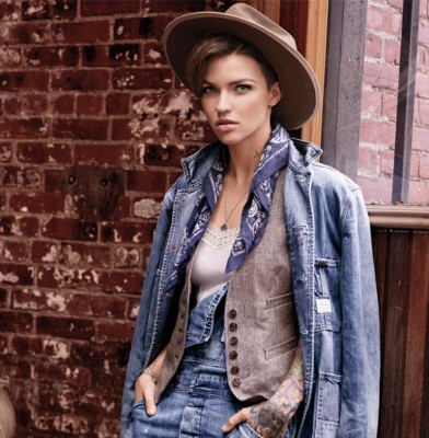 Ruby Rose & Hailey Baldwin are the new faces of Ralph Lauren\'s Denim & Supply